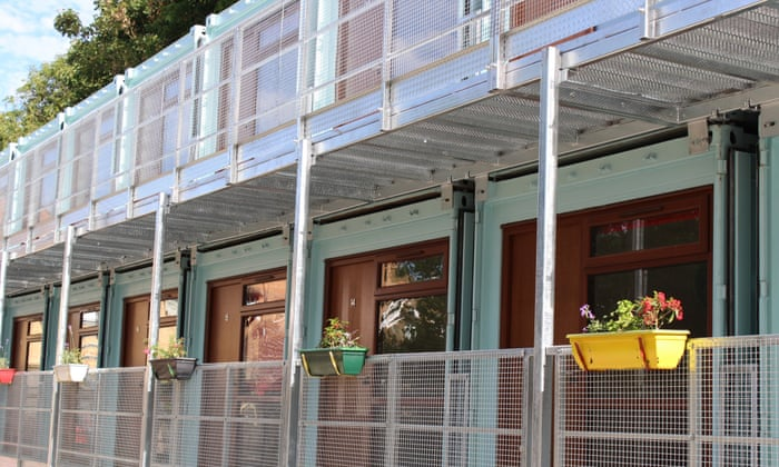Living in a steel box: are shipping containers really the