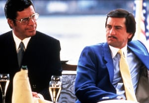 Jerry Lewis and Robert De Niro in the King of Comedy, directed by Martin Scorsese.