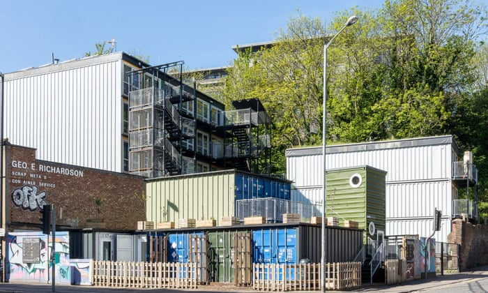 Living in a steel box: are shipping containers really the future of
