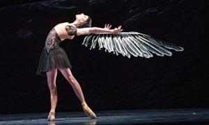 Sarah Lamb in Raven Girl