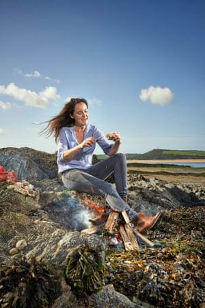 Oyster expert Katy Davidson