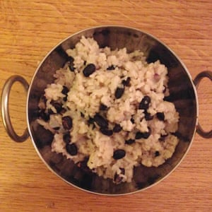 Levi Roots's rice and peas.
