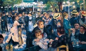 Le Moulin de la Galette, by Pierre-Auguste Renoir, 1876