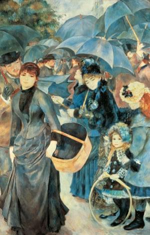 The Umbrellas, by Pierre-Auguste Renoir