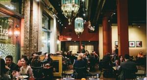 Saffron restaurant in Minneapolis.