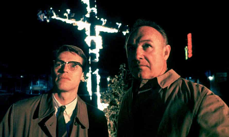 Willem Dafoe and Gene Hackman in Alan Parker's 'masterly' Mississippi Burning. Photograph: Allstar/Orion Pictures