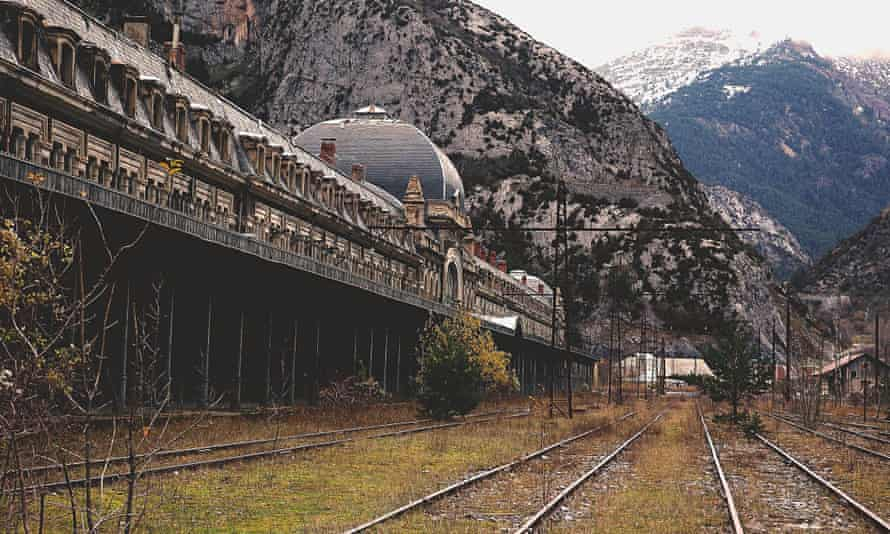 Canfranc railway station.