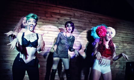 Drag night at Bloc Bar, London