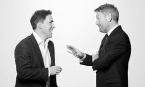 Kenneth Branagh with Rob Brydon, one of the stars of his season.