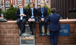 Young Conservatives in Manchester.