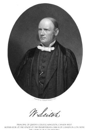 Rev William Leitch, church minister and space flight visionary