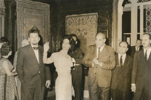 The place to 'see and be seen' … the Sursock in 1963.