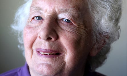 Gwen James in 2010. She was sustained by her faith throughout her life and became a lay reader at her local church in north London. Photograph: Clara Molden
