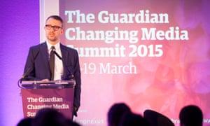 David Pemsel deputy editor of Guardian News and Media