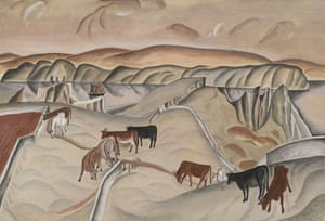 الشاعر والفنان التشكيلي ديفيد جونز يجسّد قصص الحرب