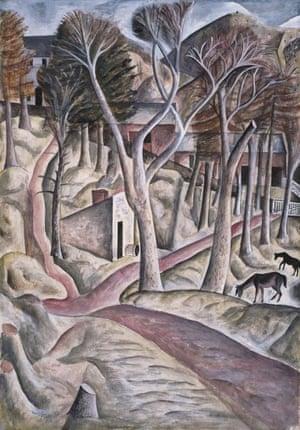 David Jones, Capel-y-ffin (1926-7)