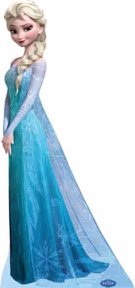 Elsa from the film <em>Frozen</em>.