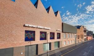 Tasteful brick bastion … Damien Hirst's Newport Street Gallery in Vauxhall shows he's grown up.