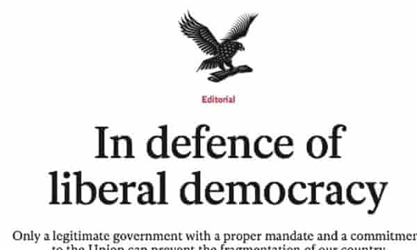 The Independent's editorial supporting the Tory-Lib Dem coalition