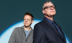 Simon Mayo and Mark Kermode photograph by David Levene for the Observer New Review.