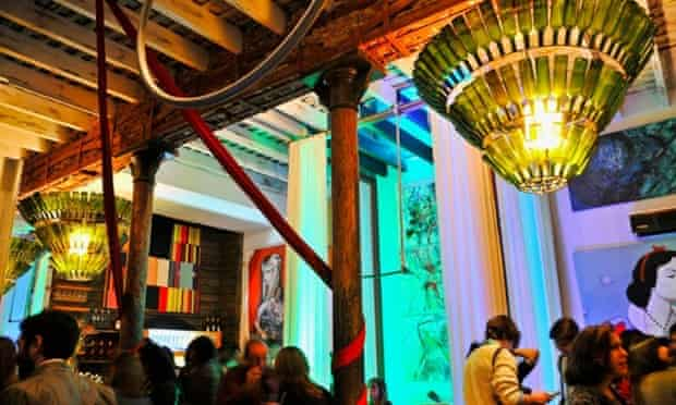 El Bajo... Montevideo's cultural nest.