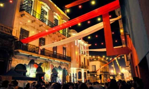 El Bajo has been rejuvenated by Montevideo's artists.