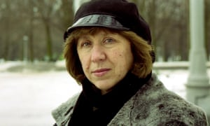 Belarussian writer Svetlana Alexievich.
