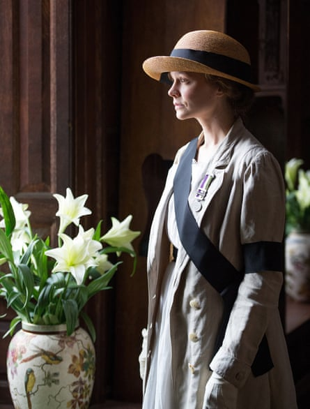 Carey Mulligan as Maud in Suffragette.