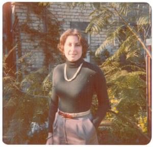 Louise Chunn in the 70s.