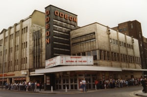 The Return of the Jedi at the Odeon Romford, 1983
