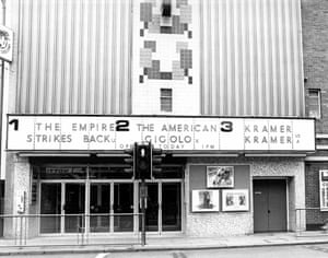 The Empire Strikes Back at the ABC in Grimsby, 1980