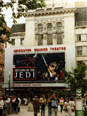 Return of the Jedi at the Leicester Square Theatre in 1983.