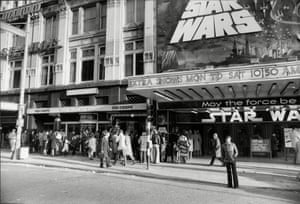 Star Wars showing in Central London