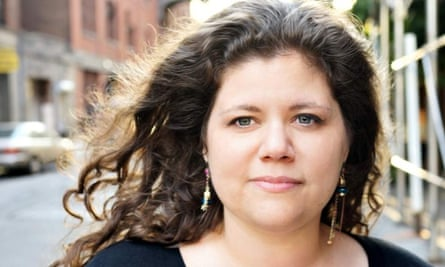 The author Rainbow Rowell, whose new book Carry On builds on a past book, Fangirl.