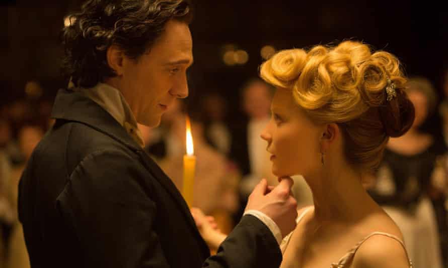Tom Hiddleston and Mia Wasokowska.