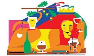 Pub quiz illustration by Alec Doherty