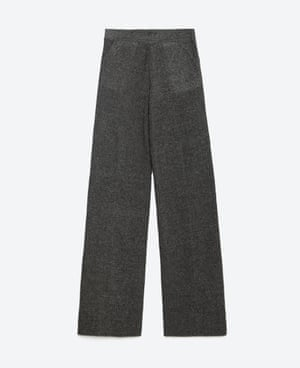 Five autumn trousers – Zara high waist trousers