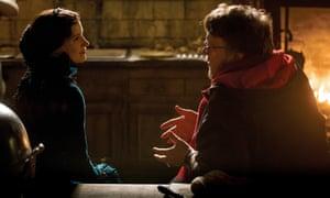 Jessica Chastain and Guillermo Del Toro.