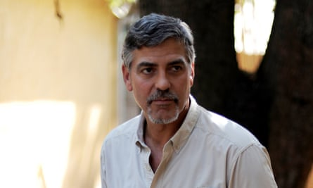 Actor, activist and face of Nespresso George Clooney, who launched the initiative in South Sudan.
