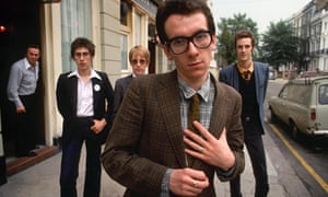 Elvis Costello and the Attractions in 1979.