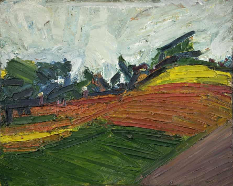 'The longer you look at his painting, the more it lets you see': Primrose Hill, 1971 by Frank Auerbach.