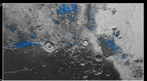 Pluto water ice