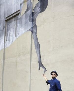 JR lives in Tribeca, New York City