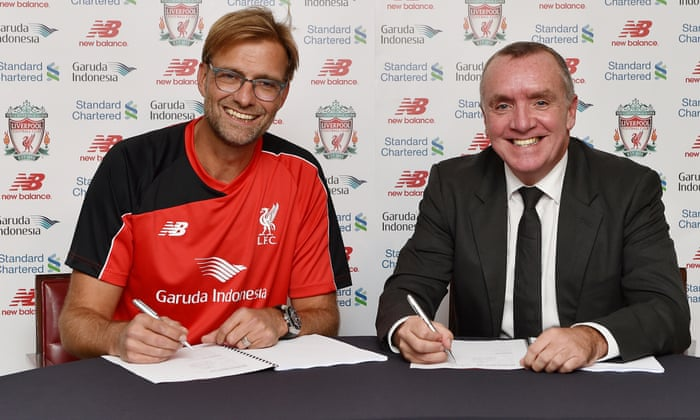 Liverpool confirm Jürgen Klopp as manager on three-year deal | Liverpool |  The Guardian
