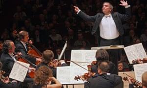 Valery Gergiev leading the Mariinsky Orchestra in an all-Stravinsky program at Carnegie Hall 10 October  2013.