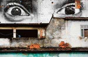 Elaine Vilela Gomez, Morro da Providência favela, Rio de Janeiro, Brazil, 2008 by JR