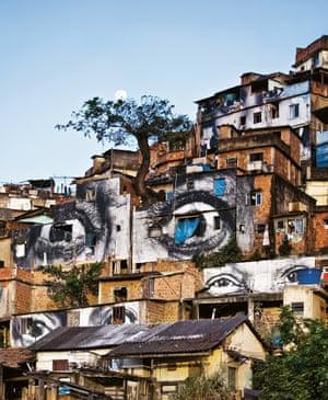 Morro da Providência favela, Rio de Janeiro, Brazil, 2008 by JR