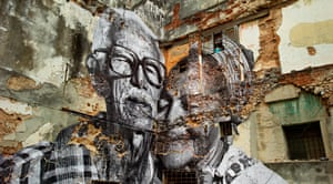 Rafael Lorenzo and Obdulia Manzano, Havana, Cuba, 2012 by JR
