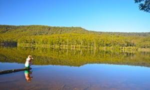 Lake Yarrunga at Acacia Flat, South Coast