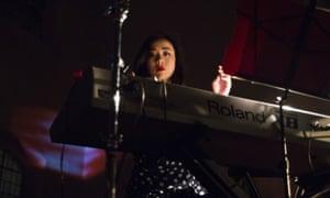 Angela Seo of Xiu Xiu at St John at Hackney, London.